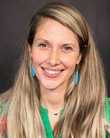 Headshot of Aubrey Carpenter, PhD, clinical psychologist at UVM Medical Center
