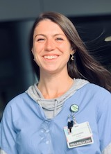 Headshot of Catherine Platt, a PGY2 pharmacy resident at UVM Medical Center