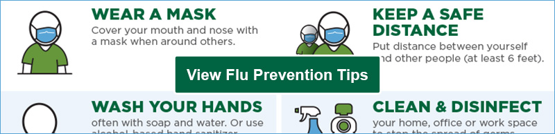 View PDF of Flu Prevention Tips