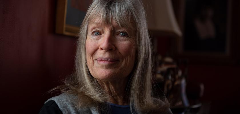 Portrait of Jean Rook, COVID-19 Vaccine trial participant.