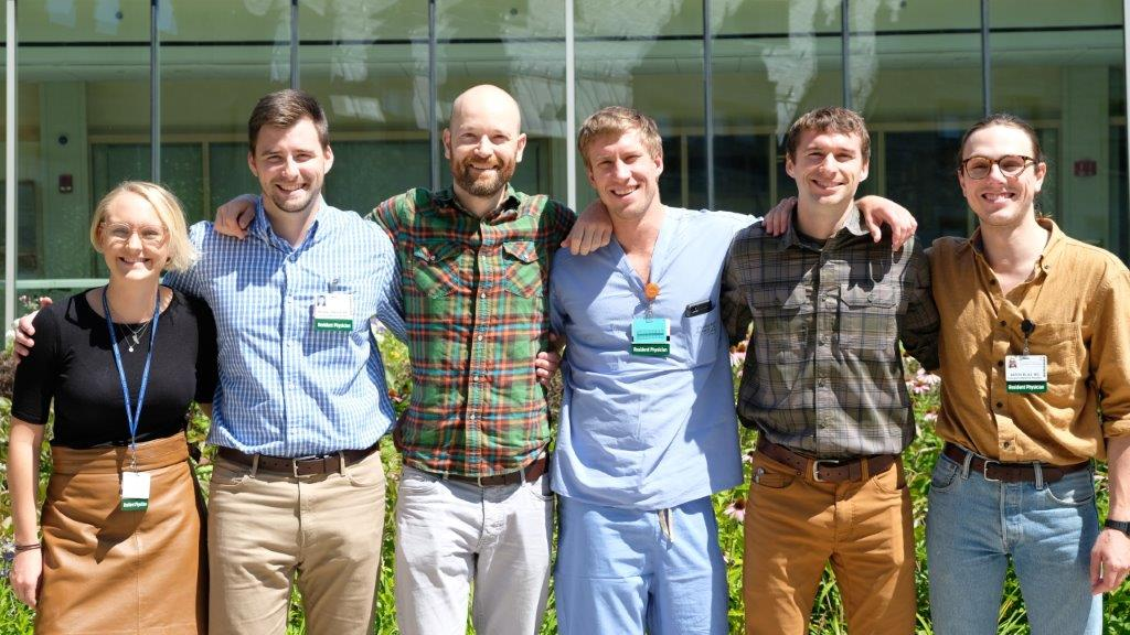 Group photo of physicians at UVM Medical Center