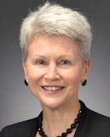 Headshot of trustee Debra Leonard