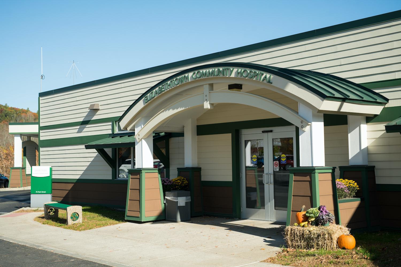 Elizabethtown Community Hospital Entrance Exterior