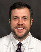 Headshot of provider, Sean Bullis, MD, an infectious disease physician at UVM Medical Center.