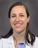 Headshot of Sarah Bell, MD, a OBGYN physician at UVM Medical Center.