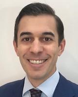 Headshot of Travis Mann-Gow, MD, a urology resident at UVM Medical Center.