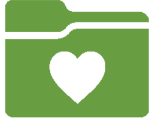 Folder with heart icon