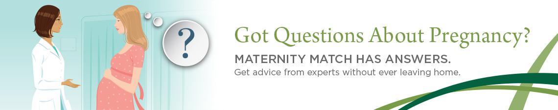UVMMC Maternity Match Banner.