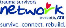 Official logo of the trauma survivor's network