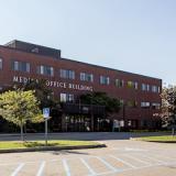 Exterior building photo of UVM Medical Center's Fanny Allen Campus.