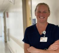 Denise McLaughlin, BSN, RN, DCES, support group facilitator and the new diabetes care and education specialist at Elizabethtown Community Hospital (ECH)