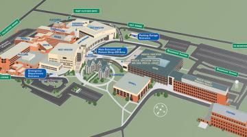 Patients Visitors UVM Medical Center Vermont Map Directions.